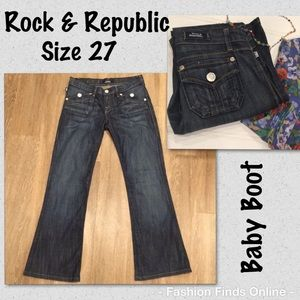 Baby Boot Rock & Republic Jeans EUC